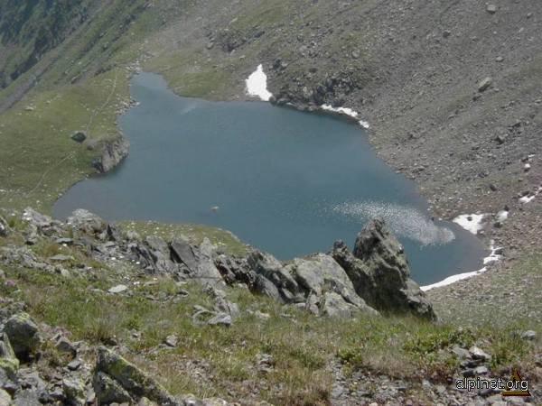 Unul din multele lacuri in Fagaras