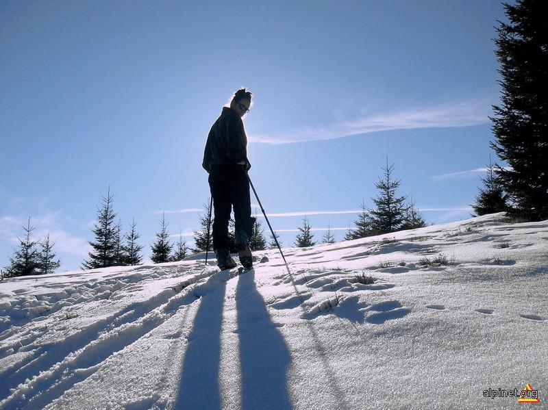 Prima dată pe schi