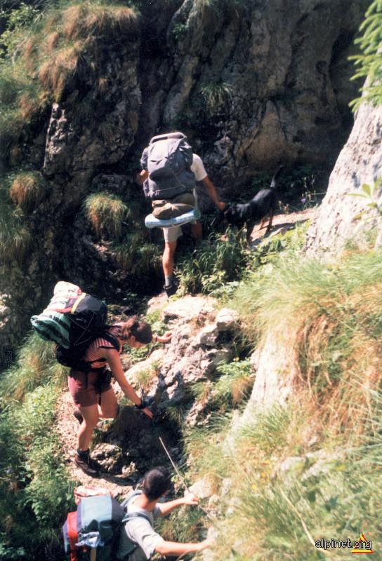 Urcuş prin Canionul Horoabei...