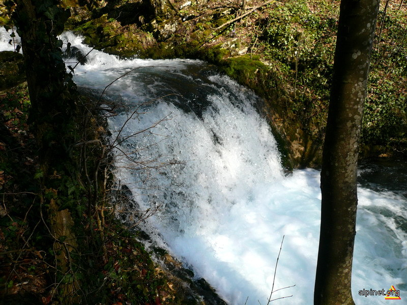 Cascada in apropiere de Izbucul Bigar