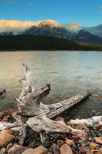 Patricia Lake & Pyramid Mountan