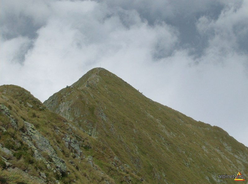 Vf. Viştea Mare (2527 m alt)