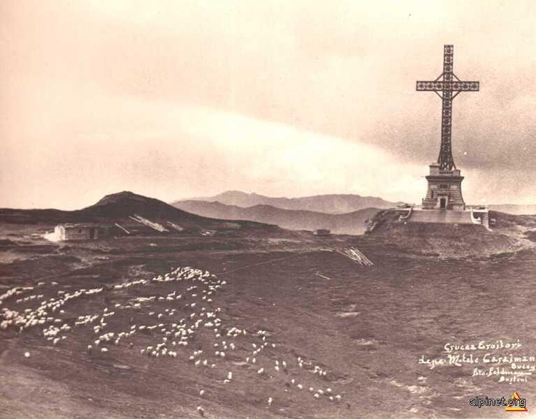Crucea din Bucegi