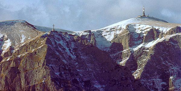 Undeva pe munte