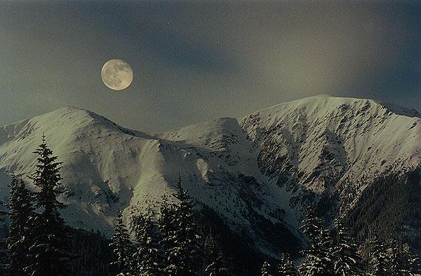 Crăciun cu lună plină