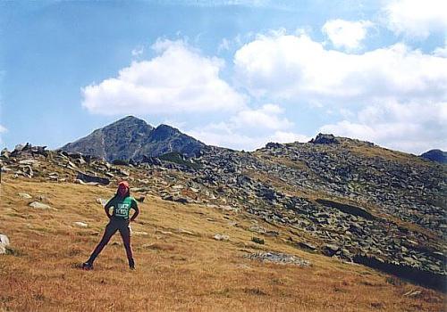 Ioana pe munte
