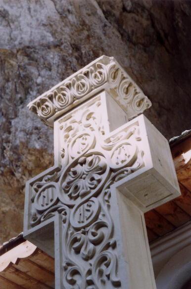 Crucea de la Schitul Peştera Ialomiţei