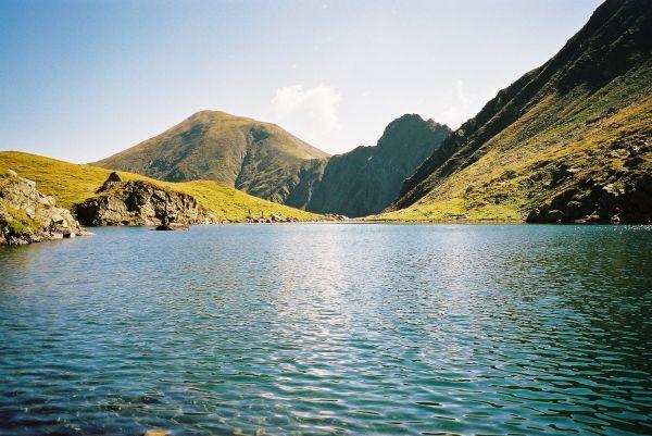 Lacul Avrig  -aug. 2003