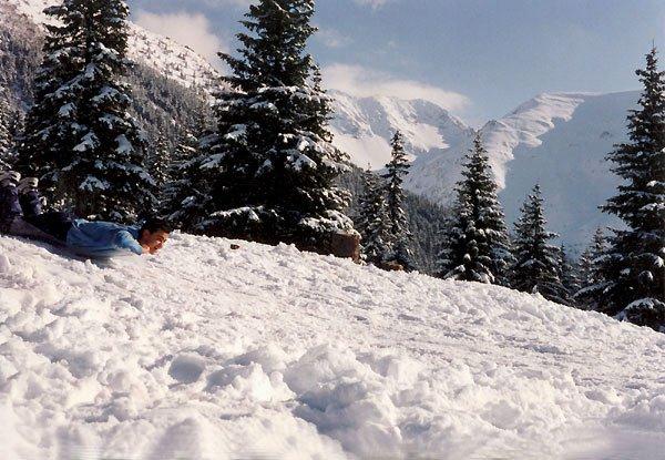 Iarna la Bârcaciu