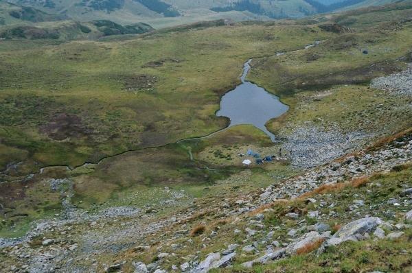 Lac undeva sub Tarnita la Cruce