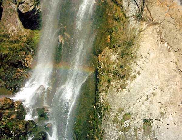 Cascada, Curcubeul