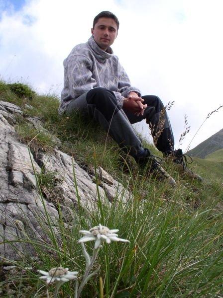 Eu, în vara lui 2003