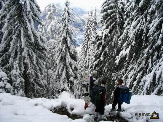 Iarna la munte 7