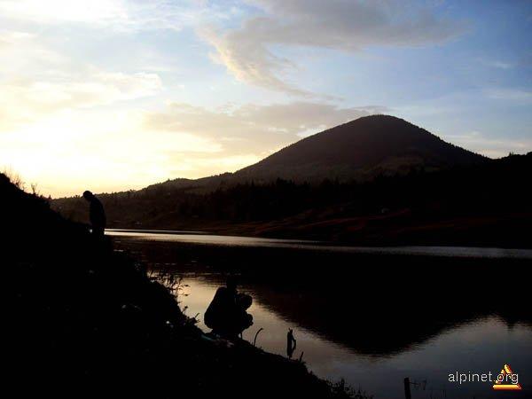 Sunset at Colibita