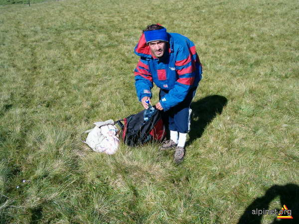 Împachetând gunoiul pt Sinaia