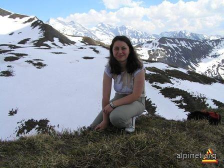 Alpii la sfârşit de mai