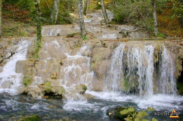 Cascade pe Valea Beuşniţei
