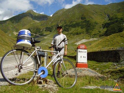 Transfagarasan pe bicicleta