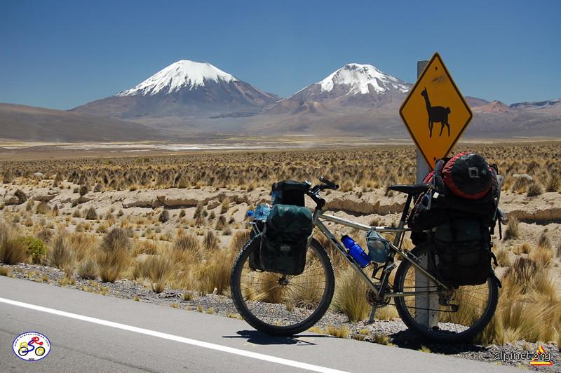 El altiplano boliviano... en bicicleta