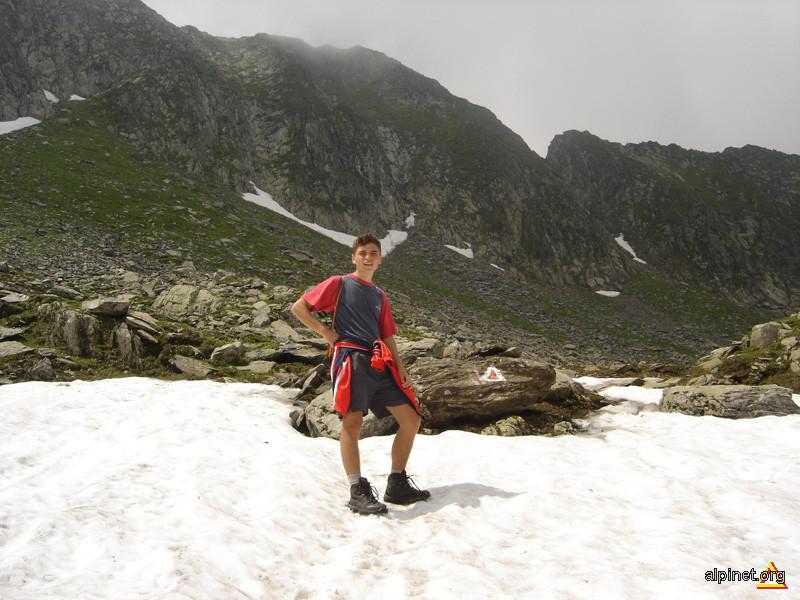 Eu in iulie 2006 pe Fagaras