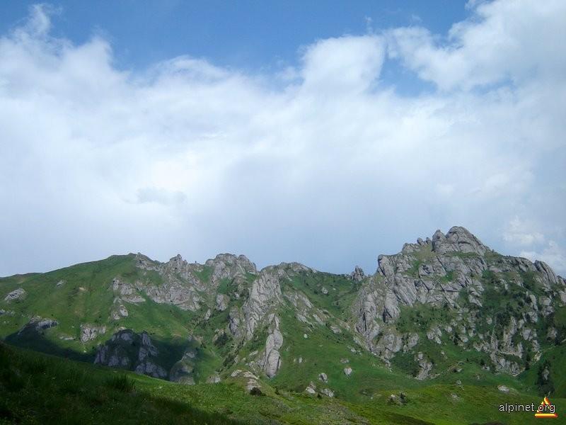 Spre vârful Ciucaş