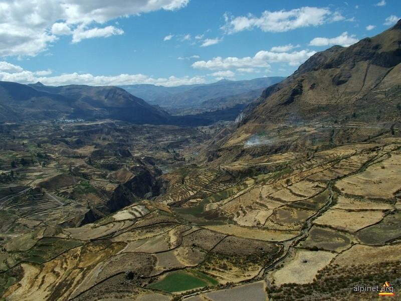 Terase in canionul Colca