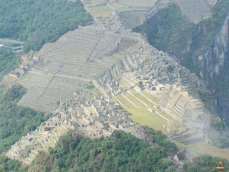 Machu Picchu vazut de la inaltime