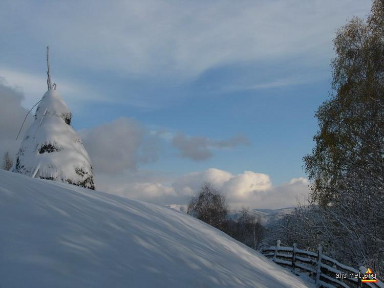Prima zăpadă