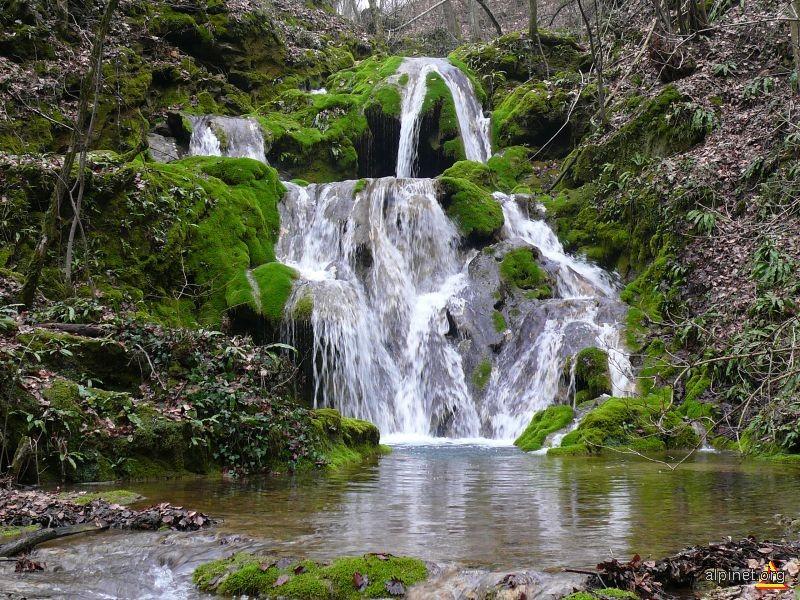 cascada de pe Valea Mare, Ilidia, 1