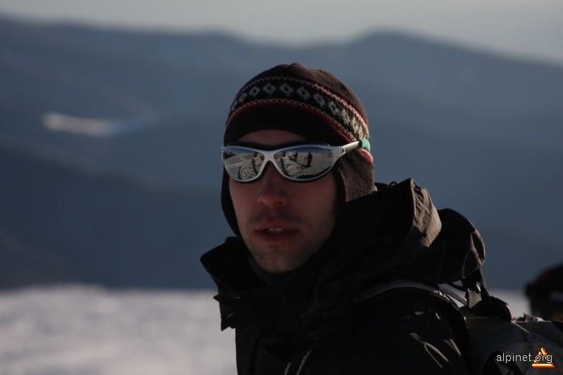 Muntele Mic... pe frig