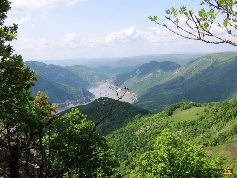 Dunărea în amonte de Trescovăţ