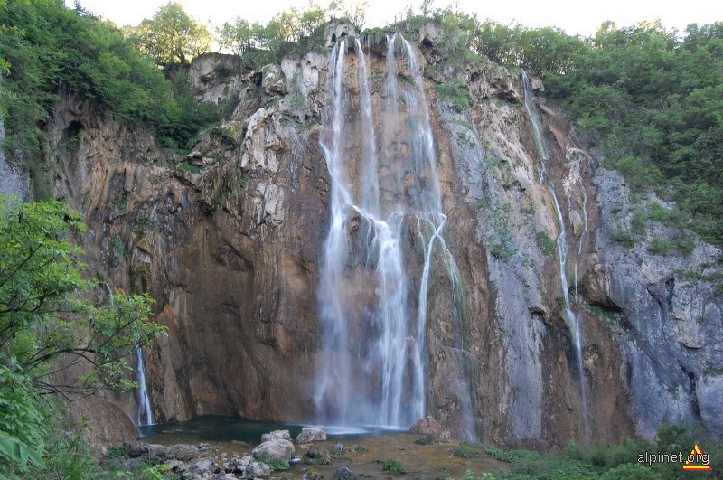 Cascada cea mare - Parcul national Plitvice