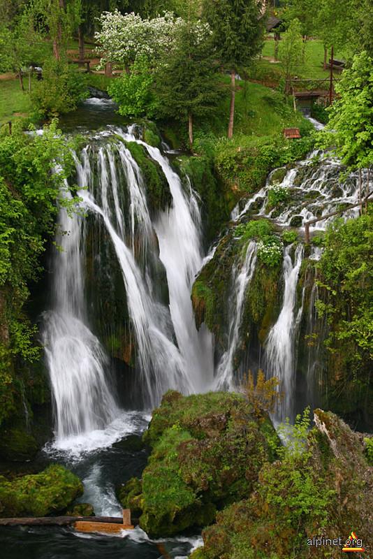 Croatia - Slunj... Cascade si iar cascade...