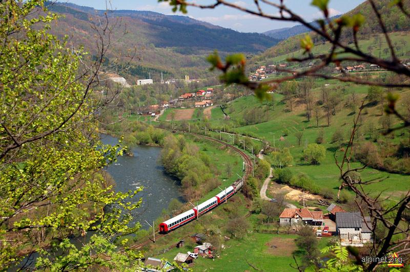 Valea Mureşului la Găloaia