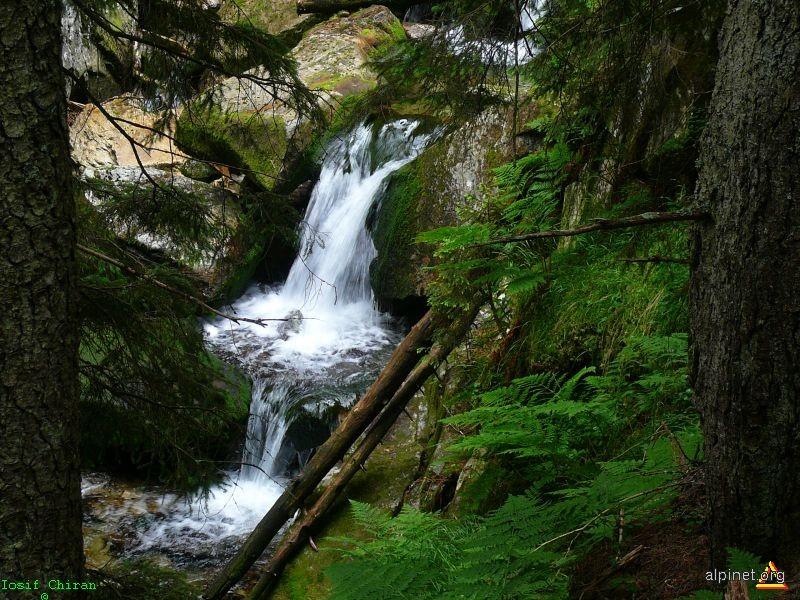 Cascade pe Valea Pietrele