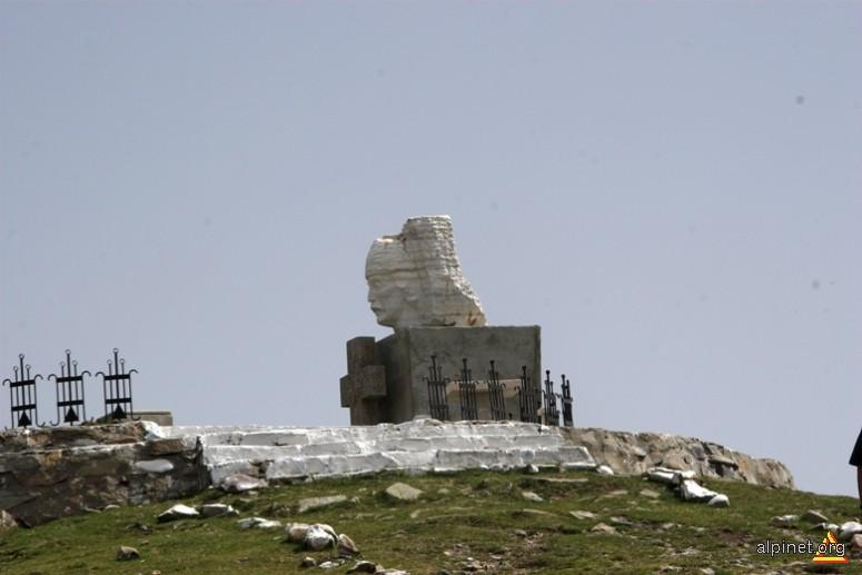 Crăişorul Iancu pe vârful Găina