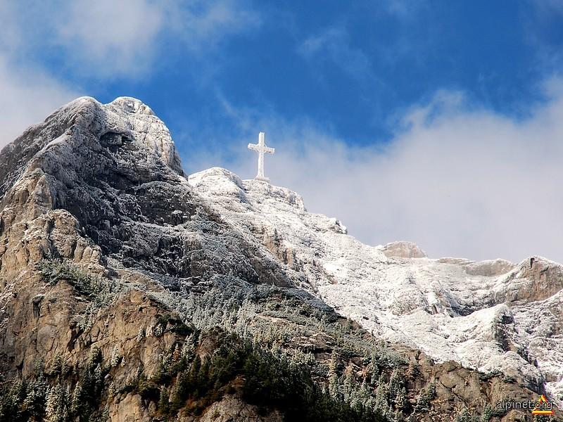 Prima zăpadă în Bucegi