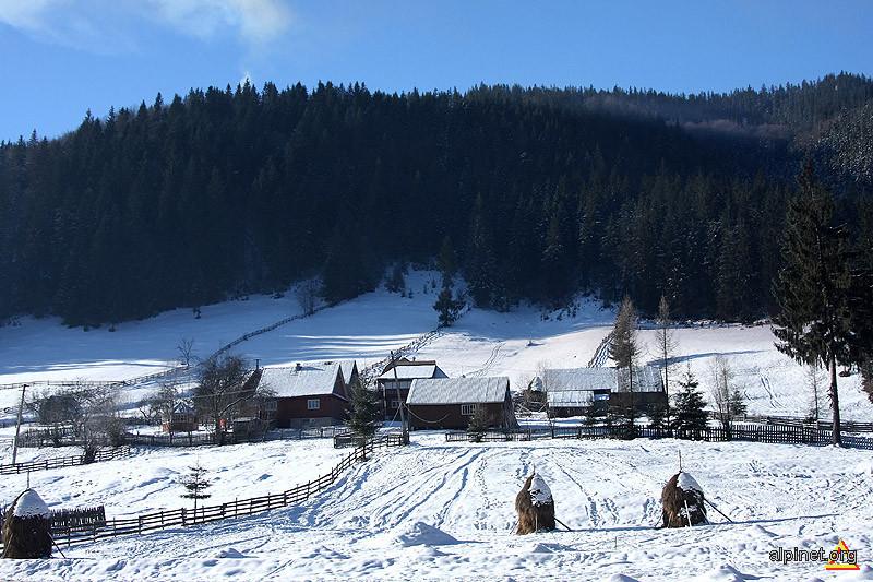 Iarna pe colinele din Gârda de Sus