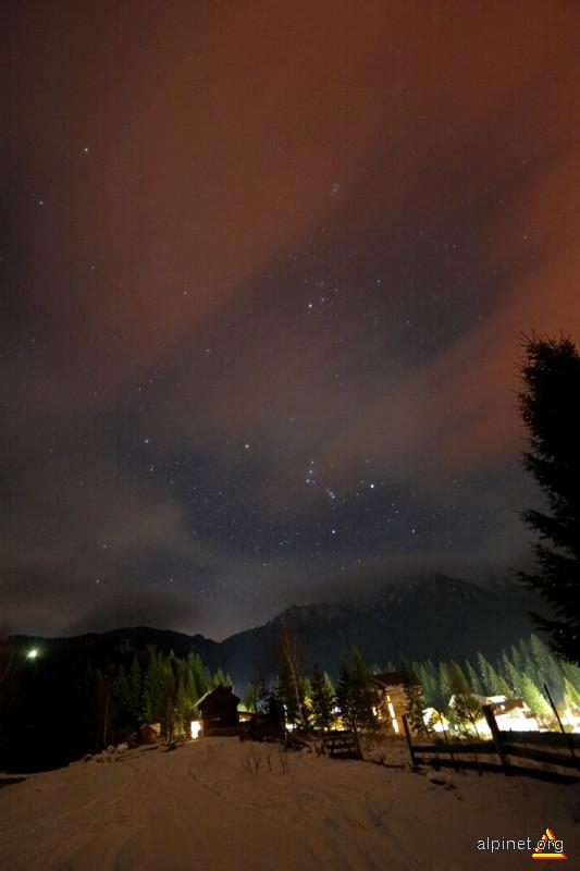 Orionul deasupra Ceahlaului
