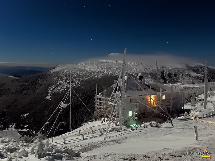 noapte de februarie in Masivul Ceahlau (2007)