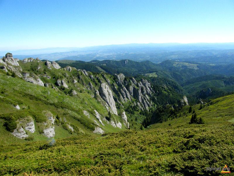 Stâncării pe Valea Chiruşca