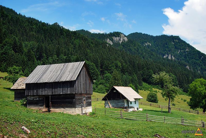 Stâna din Valea Gârcinului