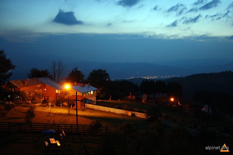 Vedere de noapte în Parâng