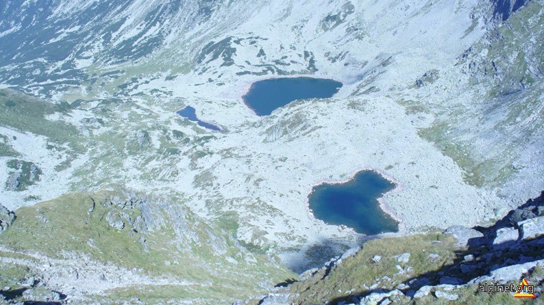 Lacurile Rosiile, Lung si Mândra