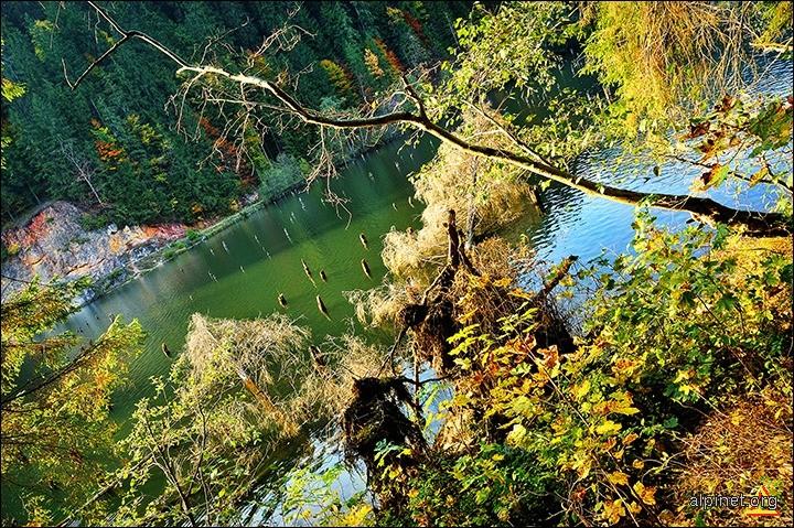 Lacul rosu/verde/albastru