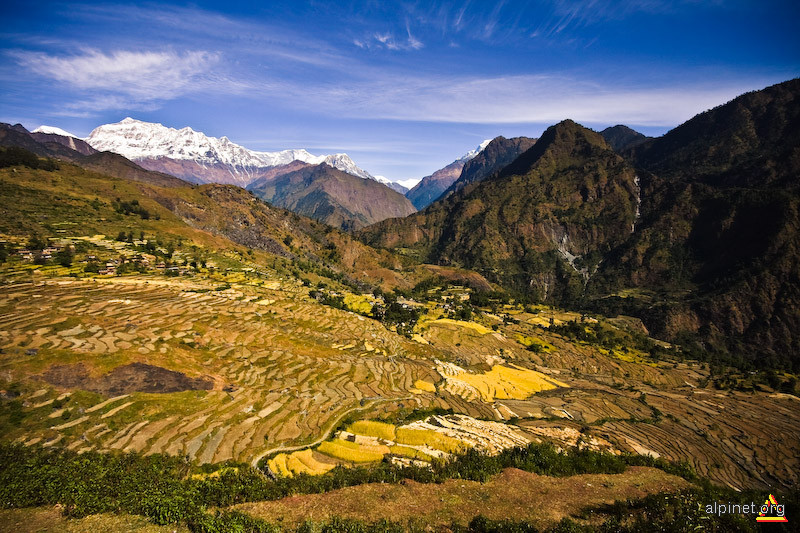 contraste Himalayene