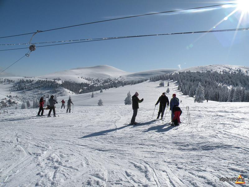 La schi in Şureanu