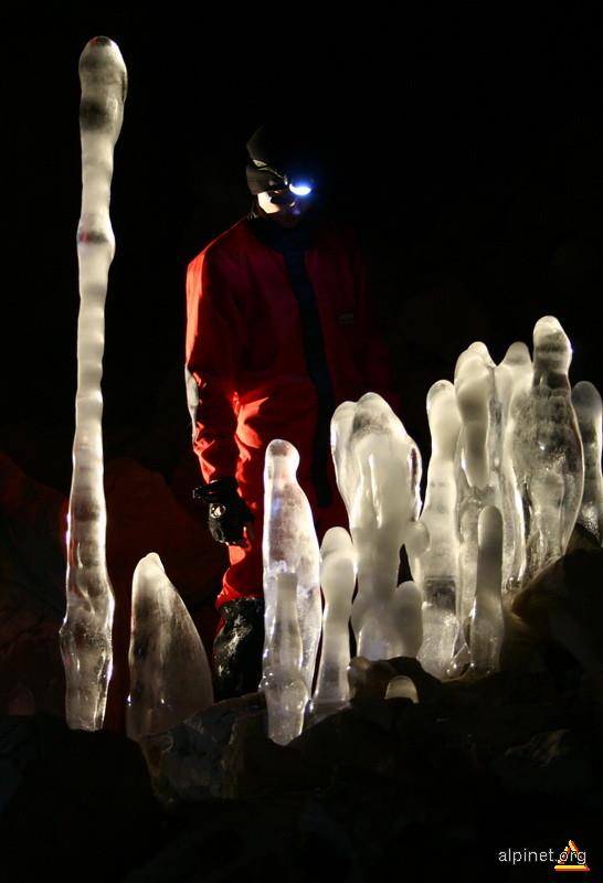 speleoteme de gheaţă