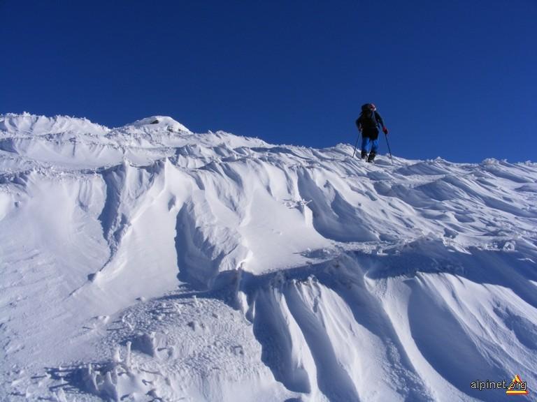Pe valuri de zăpadă