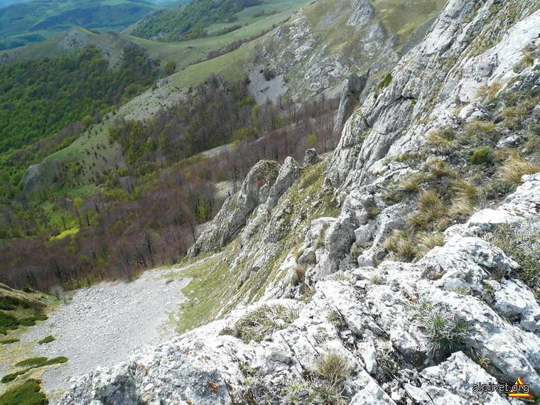 O mica Piatra Craiului (Arjana)